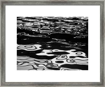 Fluid Abstract Framed Print
