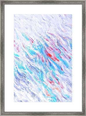 Fluid Artwork Framed Print