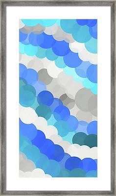 Fluid Framed Print by Dan Sproul