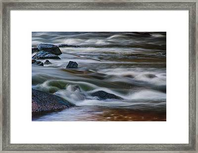 Framed Print featuring the photograph Fluid Motion by Steven Richardson