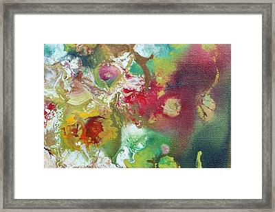 Fluid Framed Print by Sumit Mehndiratta