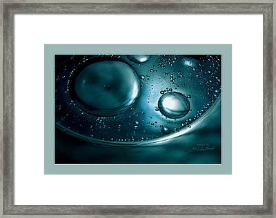 Fluidism Aspect 92 Frame Framed Print by Robert Kernodle