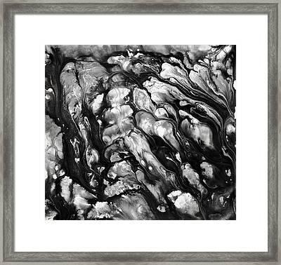 Fluidity Series No. 8 Framed Print by Sumit Mehndiratta