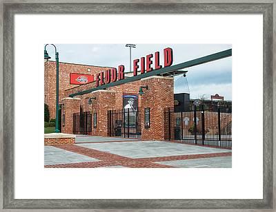 Fluor Field 2 Framed Print