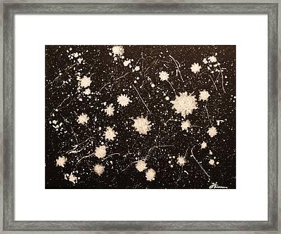 Flurries Framed Print