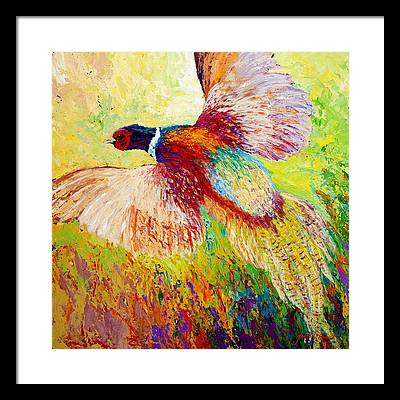 Pheasants Framed Prints