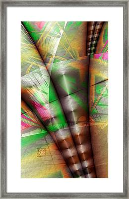 Flutes Of Osiris Framed Print by Dan Turner