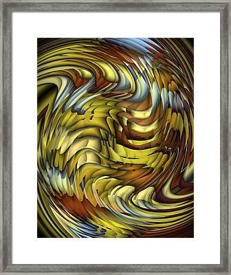 Flutter Framed Print by Terry Mulligan