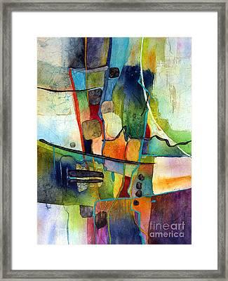 Fluvial  Mosaic Framed Print