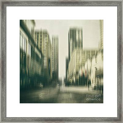 Flux Framed Print by Andrew Paranavitana