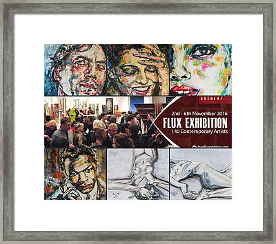 Flux Exhibition In London Framed Print