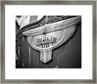 Flxible Clipper 1948 Bw Framed Print