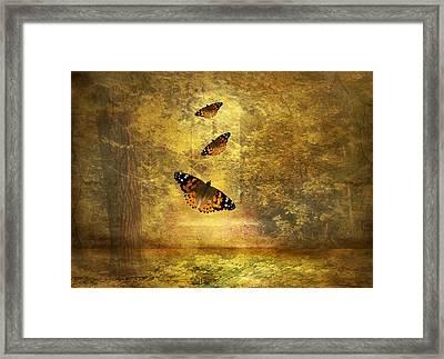 Fly Away Framed Print by Jessica Jenney