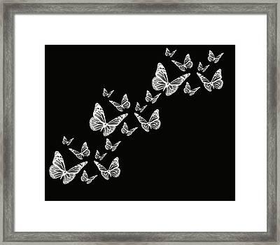 Fly Away Framed Print by Lourry Legarde