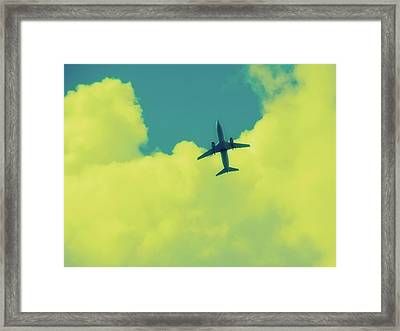 Fly Away  Without Snapshot Border Framed Print by Tony Grider