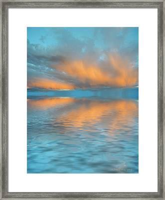 Fly Away With Me Framed Print by Jerry McElroy