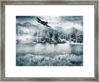 Fly Boy Framed Print