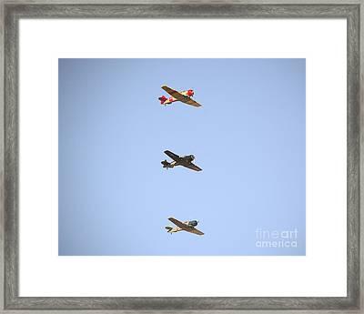Fly Boys Framed Print