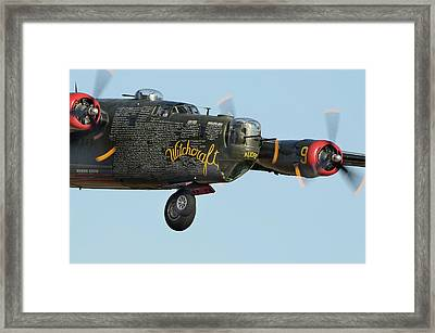 Fly By Framed Print by James David Phenicie
