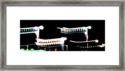 Framed Print featuring the photograph Fly by Cyryn Fyrcyd