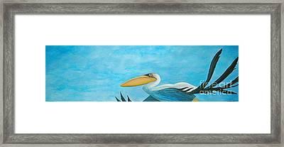 Fly Far Away Framed Print