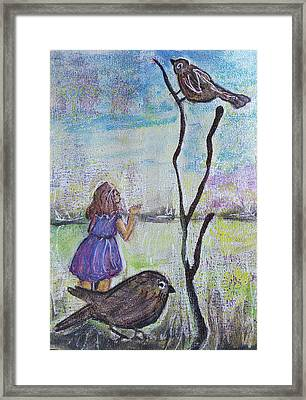 Fly, Fly Away Framed Print