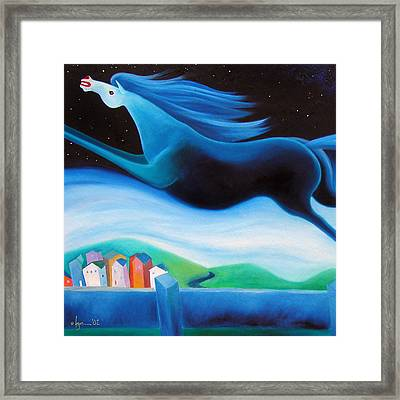 Fly Free Detail Framed Print