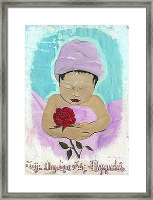 Fly Happy Unique Angel Again Framed Print