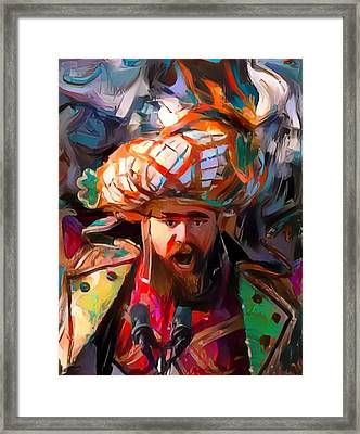 Fly Kelce Fly Framed Print