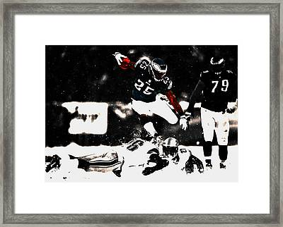 Fly Like An Eagle Framed Print by Brian Reaves