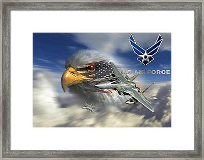 Fly Like The Eagle Framed Print