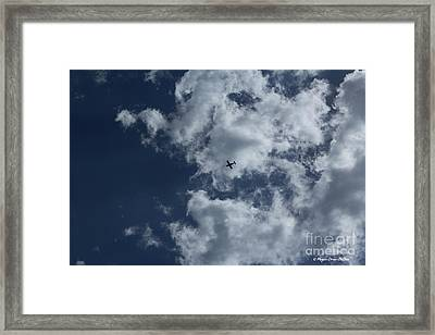 Framed Print featuring the photograph Fly Me To The Moon by Megan Dirsa-DuBois