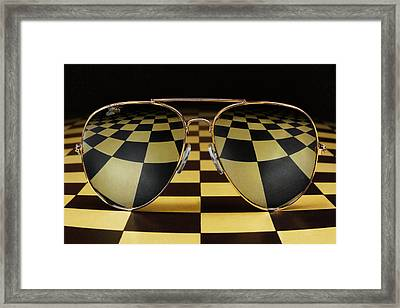 Fly On The Set Framed Print by Mister Solo