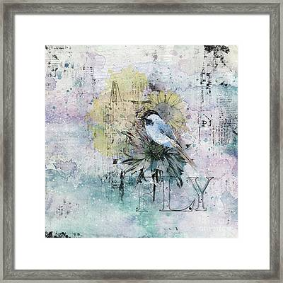 Fly Framed Print