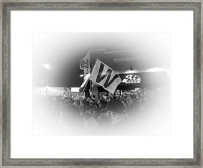 Fly The W Framed Print