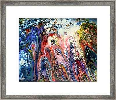 Fly Timing Day Framed Print