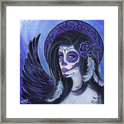 Fly To Me Framed Print by Renee Lavoie