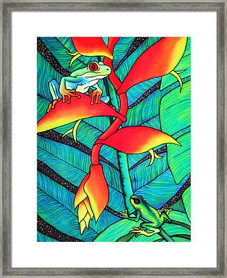 Fly Watch Framed Print by Ursula Schroter