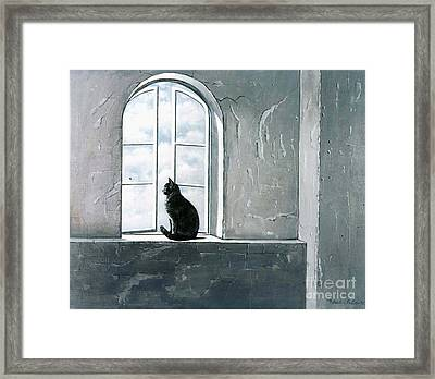 Fly Watching Framed Print
