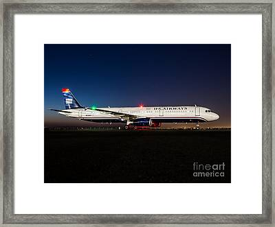 Fly With Us Framed Print