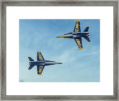 Flyby Framed Print by Ches Black