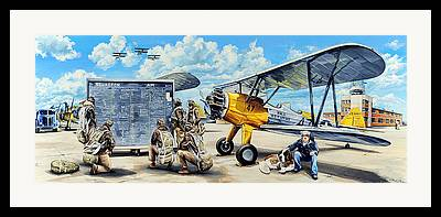 Stearman Framed Prints