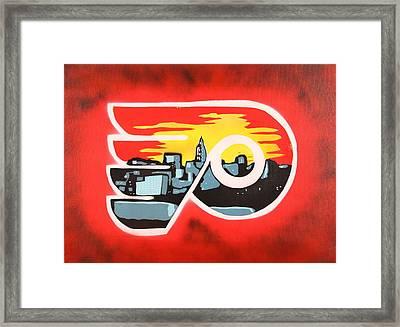 Flyers Framed Print by Tom Evans