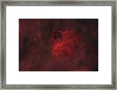 Flyihng Owl Nebula Framed Print by Brian Peterson