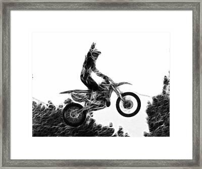 Flying 1 Framed Print