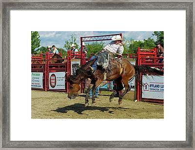 Flying A Horse Framed Print