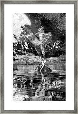 Flying A4 Framed Print