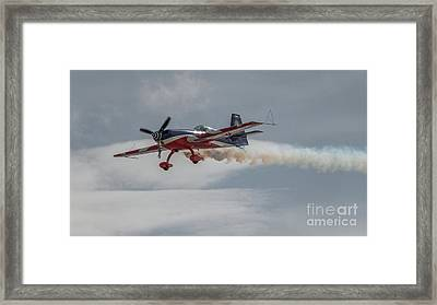 Flying Acrobatic Plane Framed Print