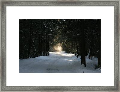 Flying Angel No.2 Framed Print