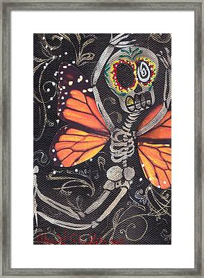 Flying Away Framed Print by  Abril Andrade Griffith